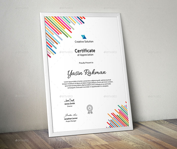 Premium Certificate
