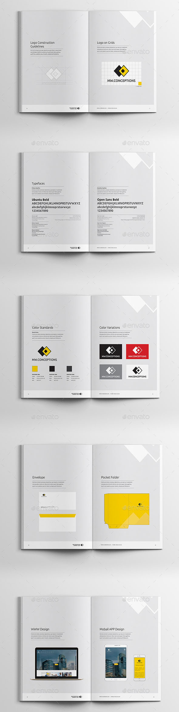40+ Best Brand Guideline Templates (PSD, InDesign) | Premium Download