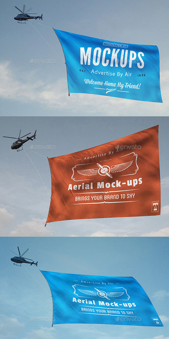Aerial Mock-ups Helicopter
