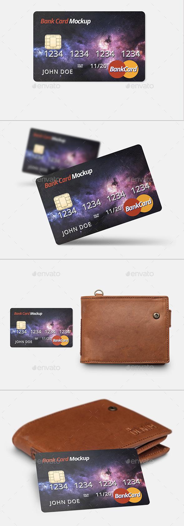 Credit Card Bank Mockup