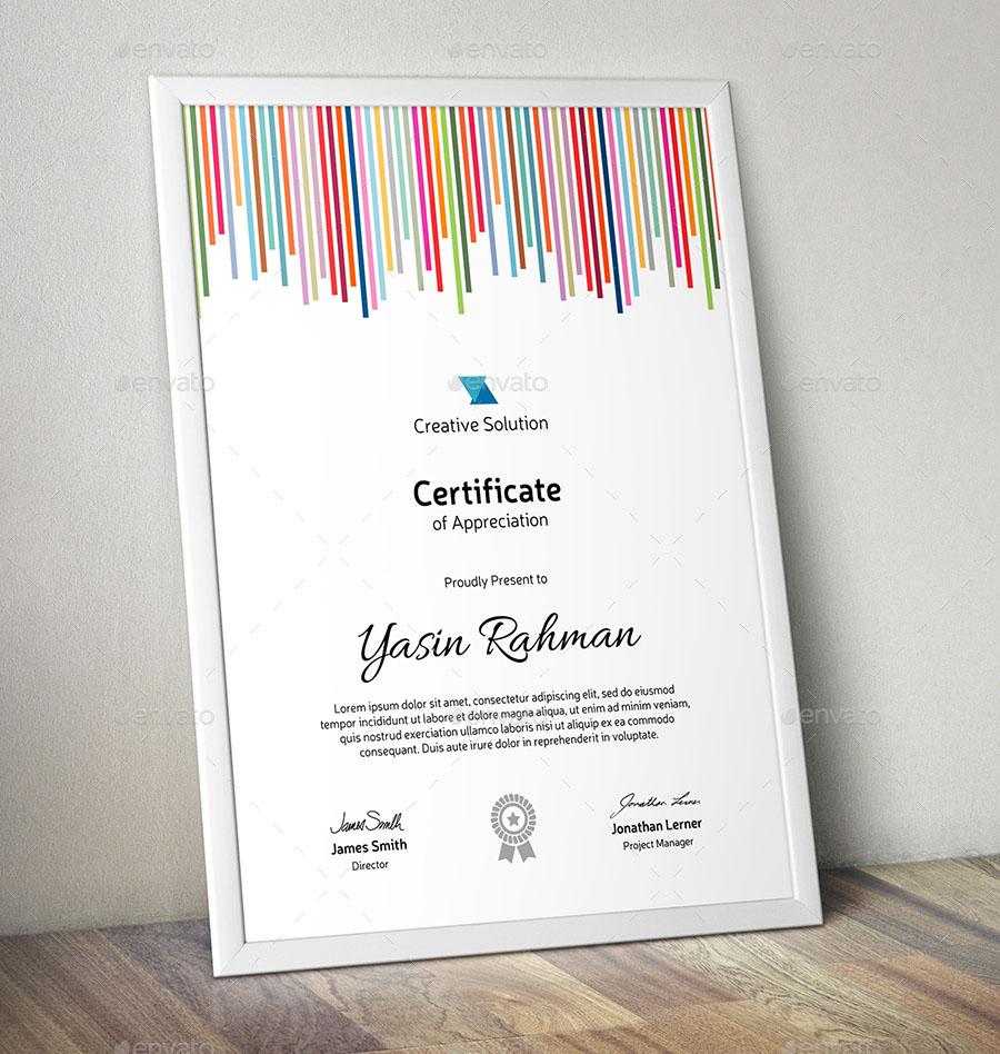 Certificate Premium