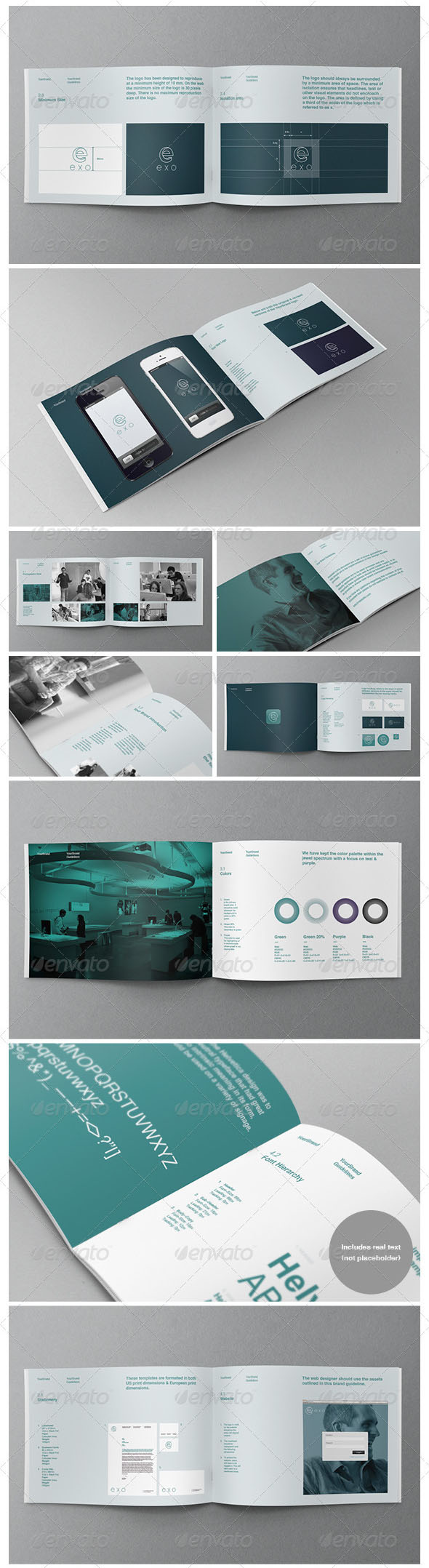 instruction manual template indesign