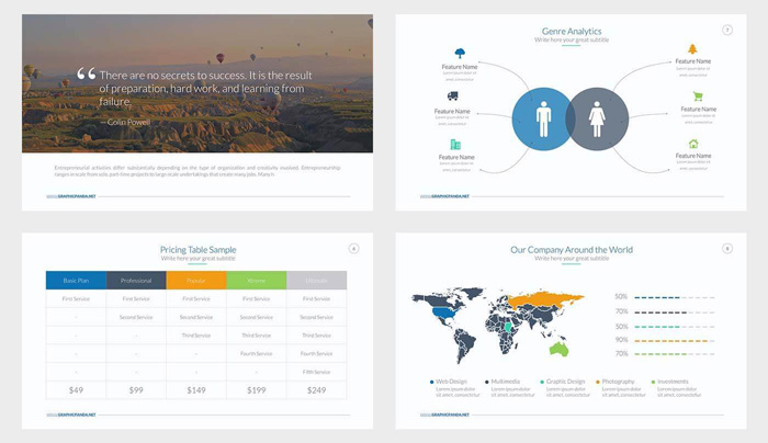 48 best annual business report templates psd word powerpoint id free business powerpoint template toneelgroepblik Images