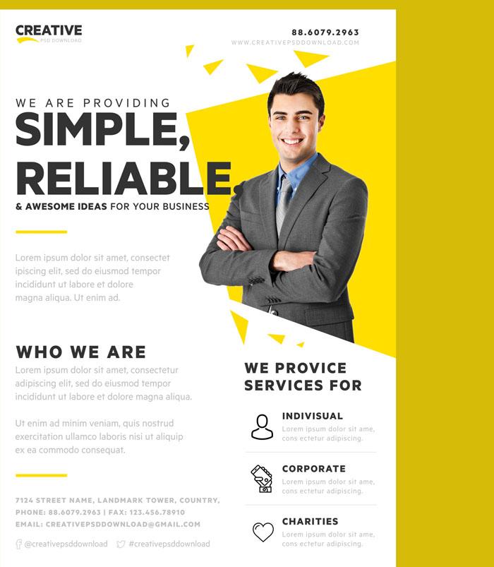 90 Best Flyer Templates Psd Free Premium Download