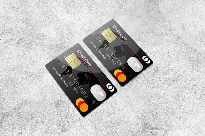 Premium Bank Card Mock-Ups