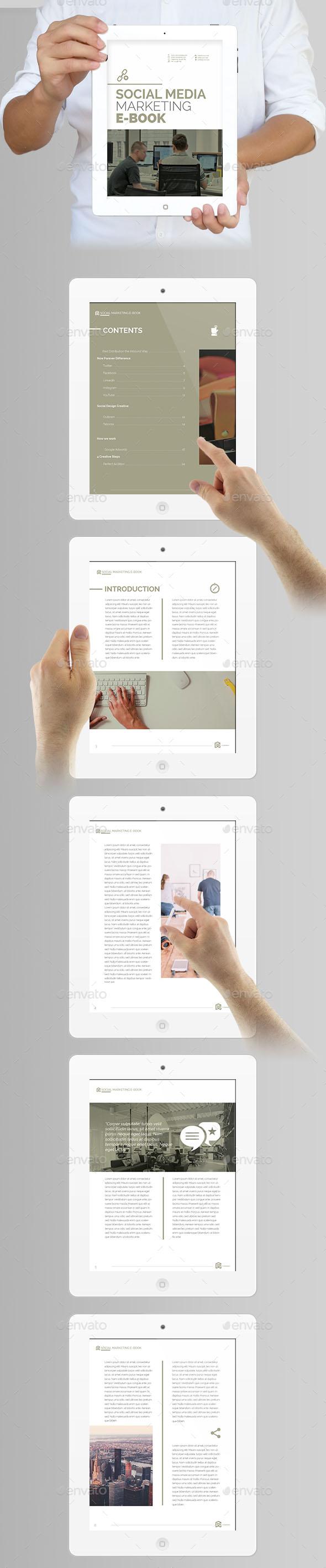 40 most impressive ebook mockups psd indesign get for print. Black Bedroom Furniture Sets. Home Design Ideas