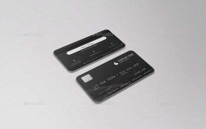 Credit Card Style Business Card