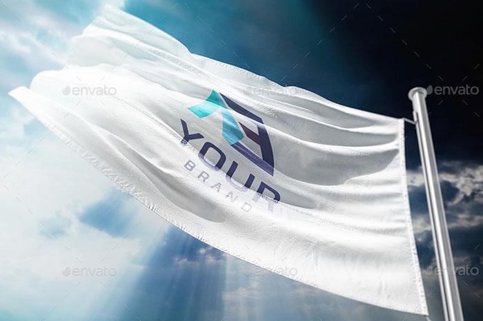 Premium Flag Mockups 01