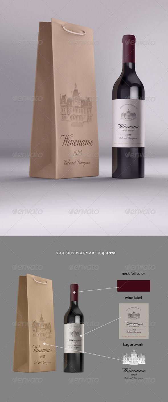 46 Best Wine Bottle And Wine Glass Mockups Free Premium