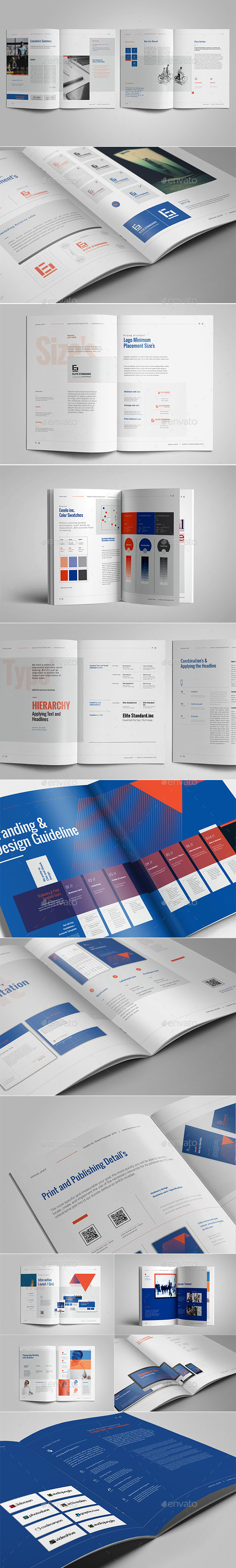 40+ Best Brand Guideline Templates (PSD, InDesign) | Premium Download