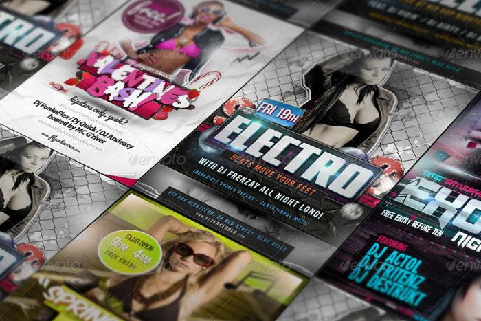 Premium Flyer Poster Mockups Bundle