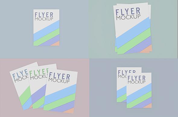 Free Flyer, Poster, Resume Mockup