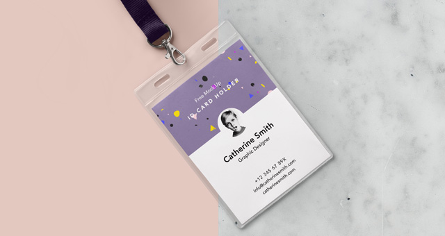 A Professional ID Card Template