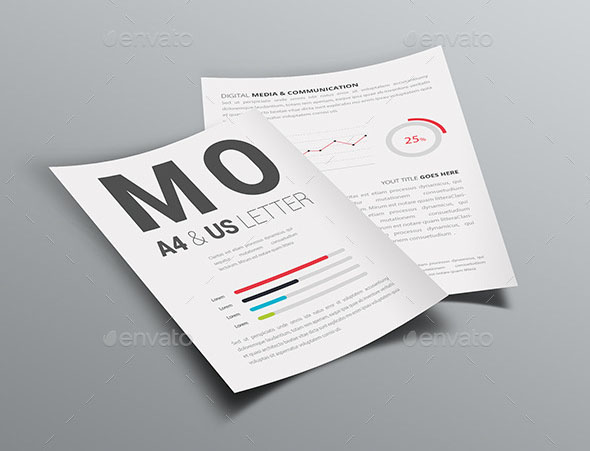 A4 / US Letter / Poster / Flyer Mockup