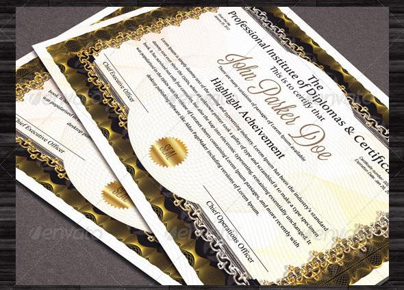 Premium Diplomas and Certificates