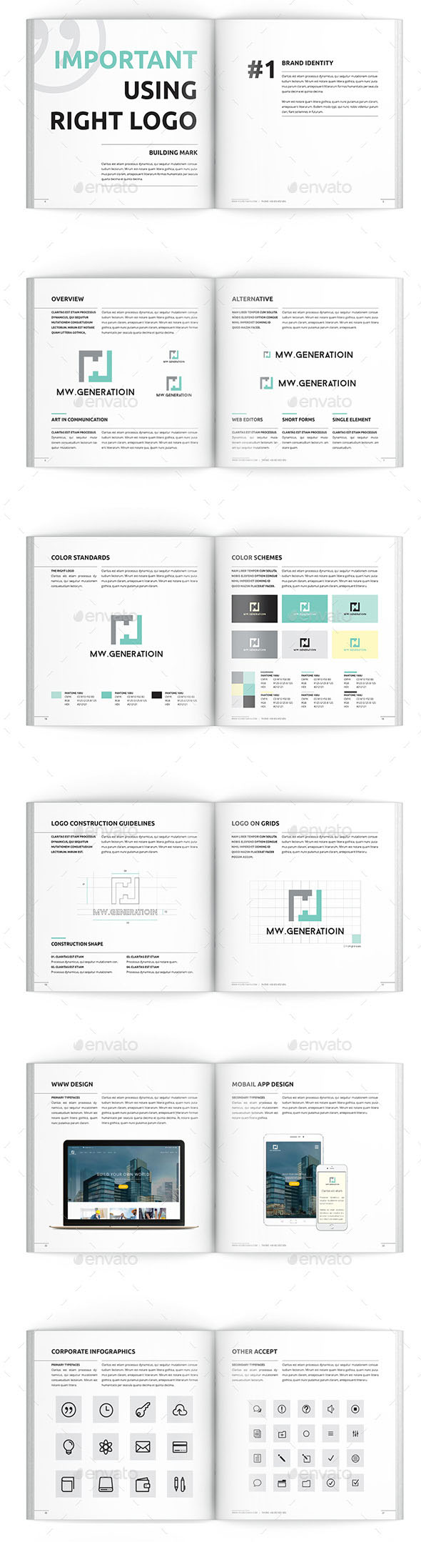 Clean Brand Manual
