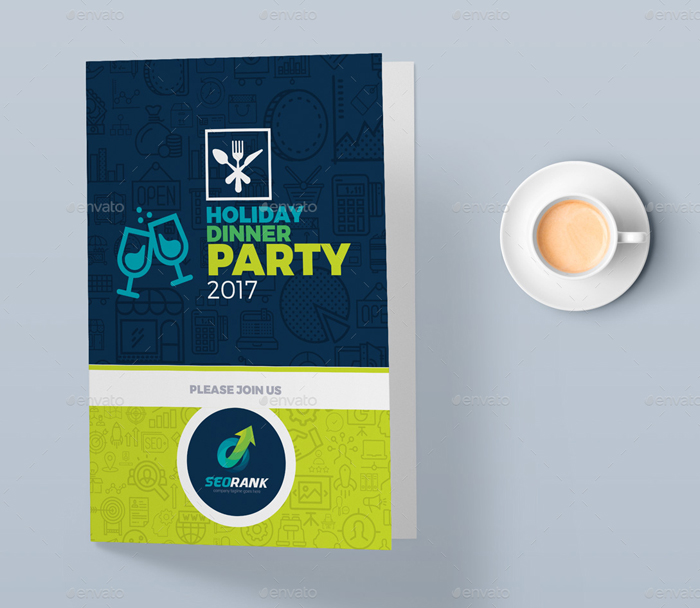 Invitation Card Template for SEO (Search Engine Optimization) And Digital Marketing Agency/ Company