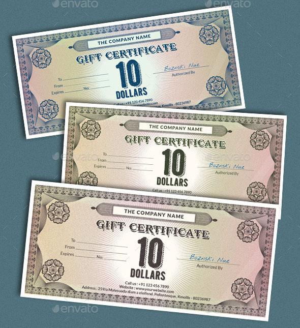 Premium Gift Certificate