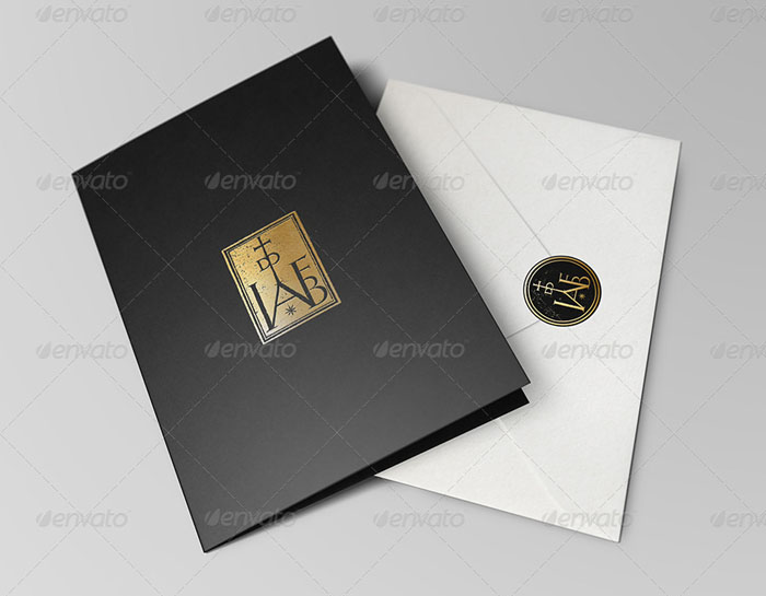 Invitation and Greeting Card Mock-Up Pack II