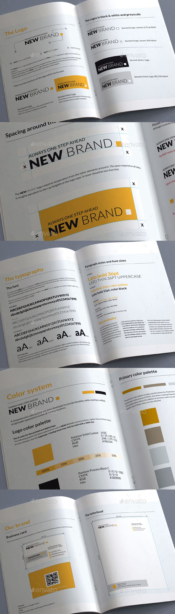 Brand Guidelines—20 Pages