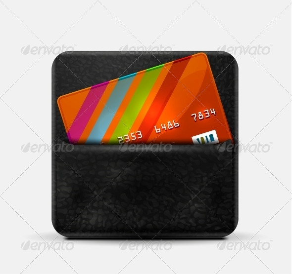 Leather Wallet for Credit Card