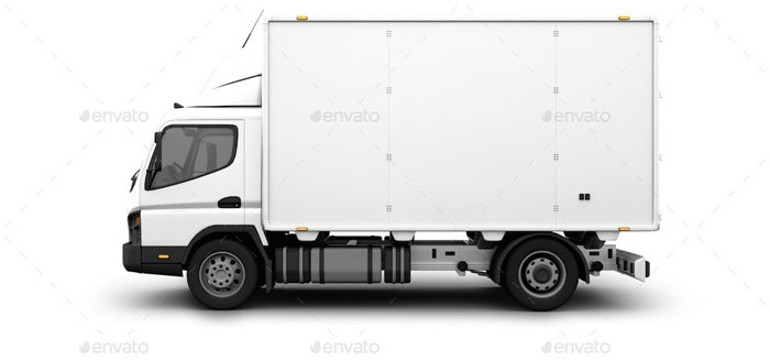 Delivery Car Branding Bundle