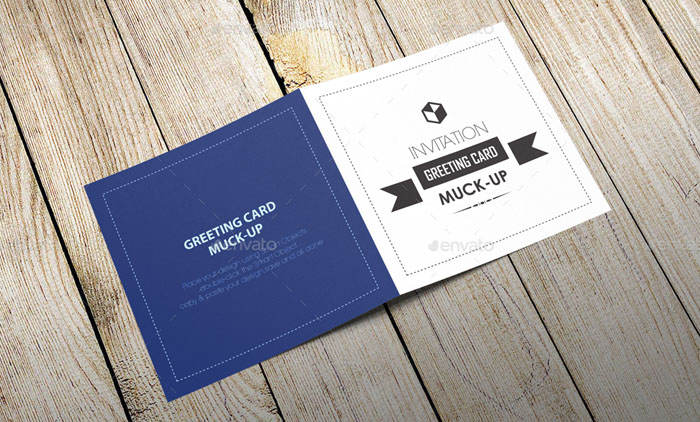 55 Best Gift Greeting And Invitation Card Mockups Free Premium