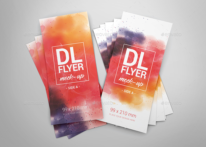 Premium DL Flyer Mock-Ups
