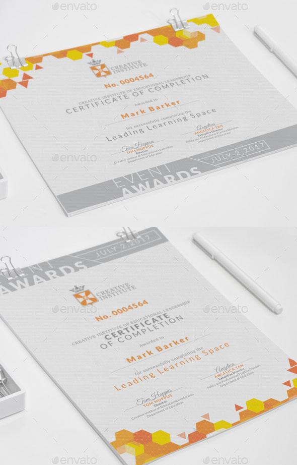 Modern Certificate V8