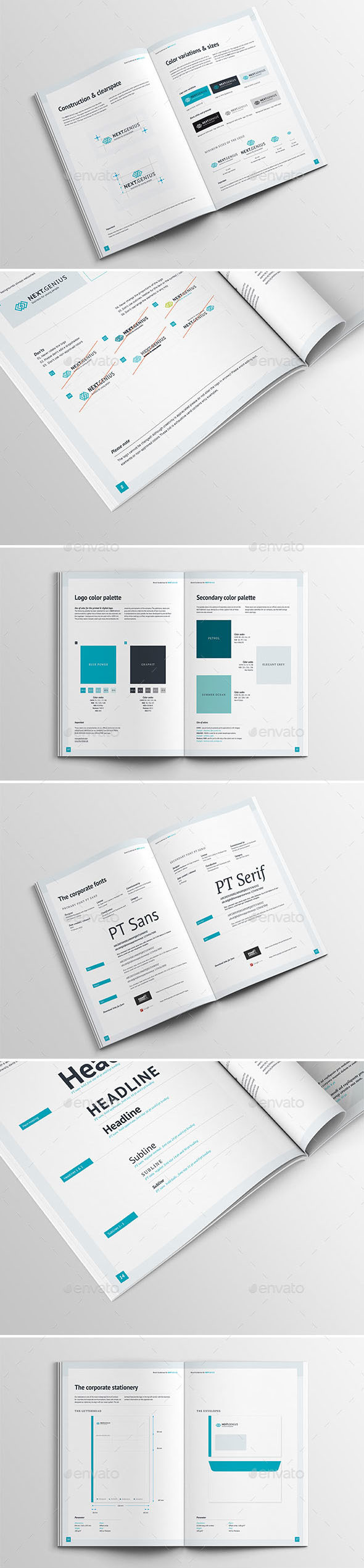Brand Guidelines—32 Pages