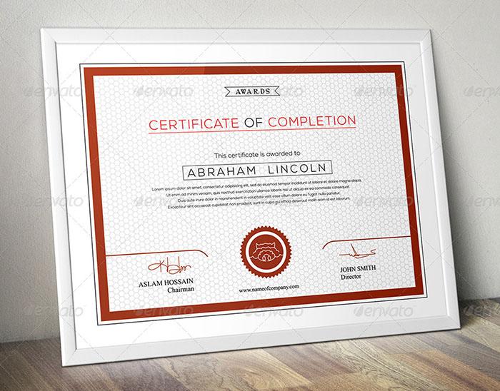 Premium 3 Design Multipurpose Certificate GD009