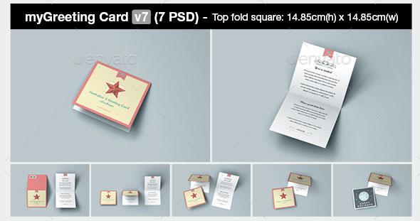 My Greeting Card Mockup Bundle 2