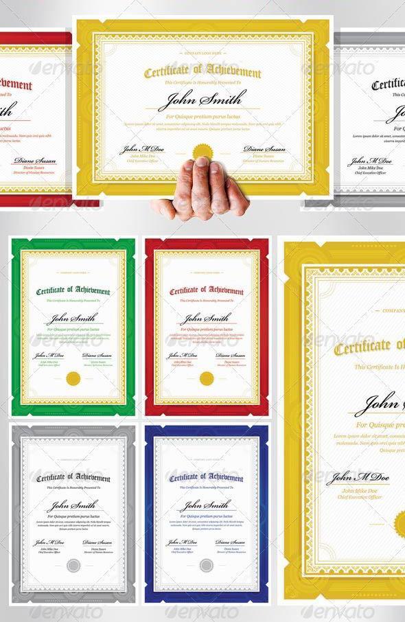 Premium Modern Classic Diploma Award Certificate