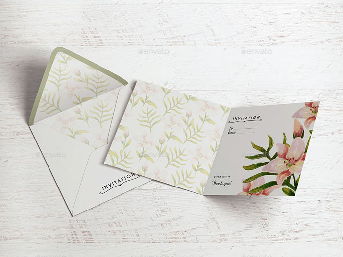 55 best gift greeting and invitation card mockups free premium square invitationgreeting card mockup stopboris Gallery