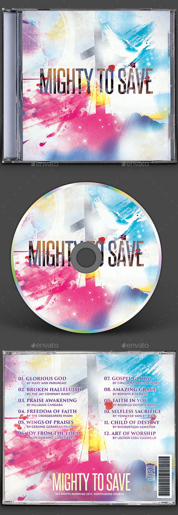 80+ Best Templates of CD DVD Covers (PSD) | Free & Premium Download