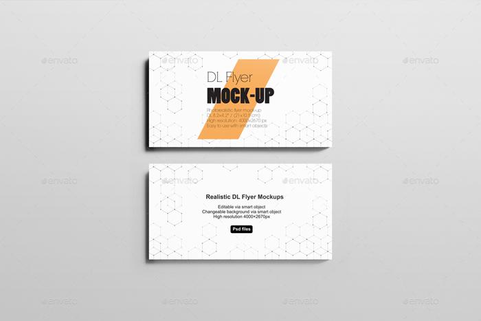 Premium DL Flyer Mockup
