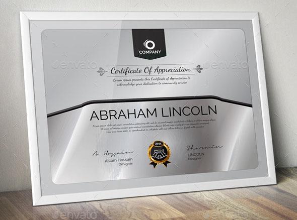 Premium Multipurpose Certificate GD017