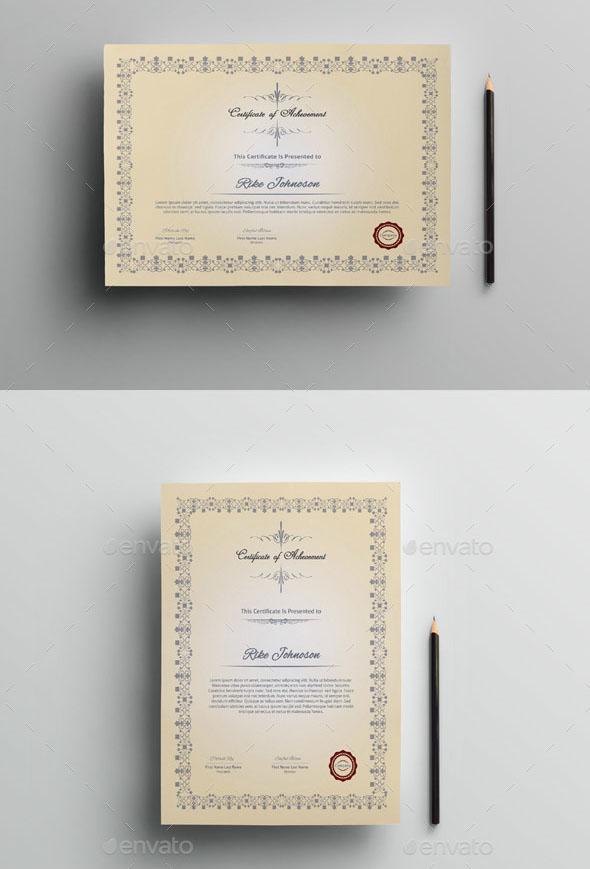 Multipurpose Certificate Template V.02