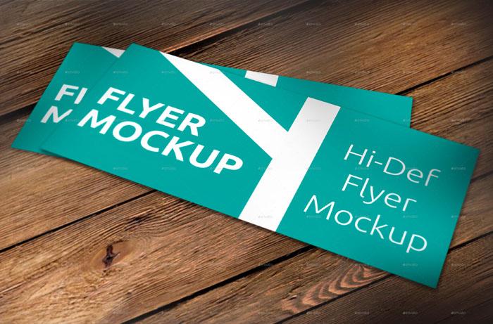 Premium Realistic Brochure (Flyer) Mockup