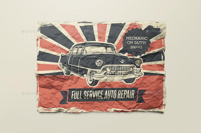 Premium Paper/ Poster/ Flyer Mock-Up