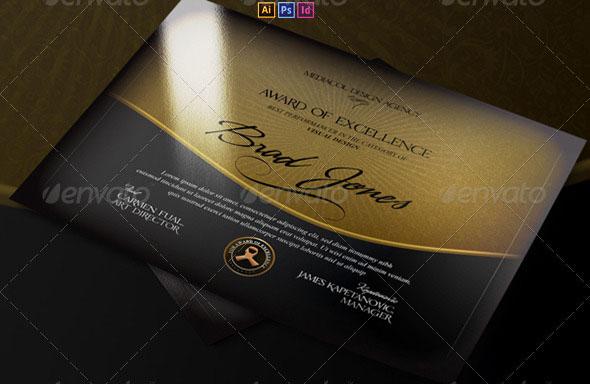 Premium Multipurpose Modern Certificate
