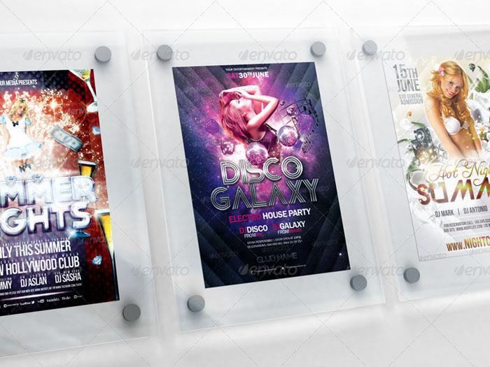 Premium Realistic Poster/Flyer Mock-Ups