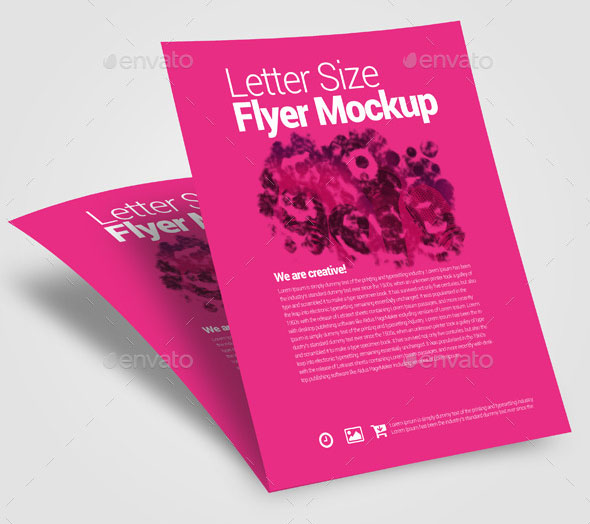 Premium Flyer Mock-up