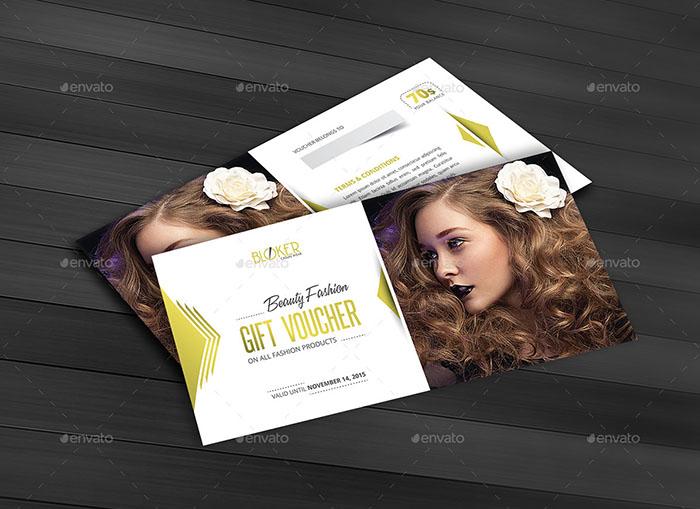 Beauty Fashion Gift Voucher Premium