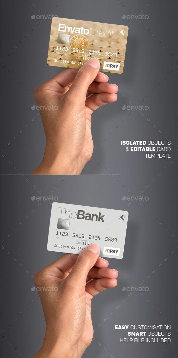 Premium Card Mockup & Generator 01