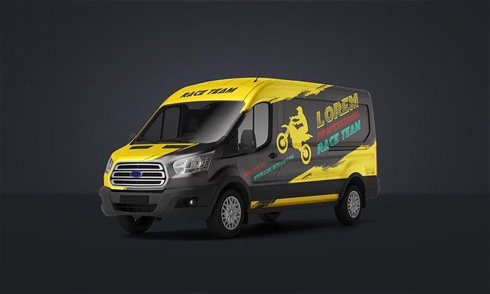 42 Best Van Branding Templates PSD Vector