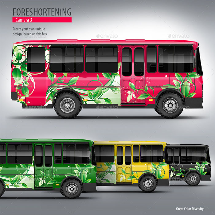 Premium Service Bus Mock-up