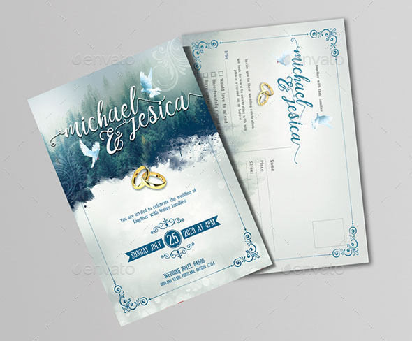 75 high quality wedding invitation card designs psd indesign vector this wedding card design is humble and modest but it definitely emphasizes on the purity of a bond so if youre the type to signify bonds then this is the stopboris Image collections