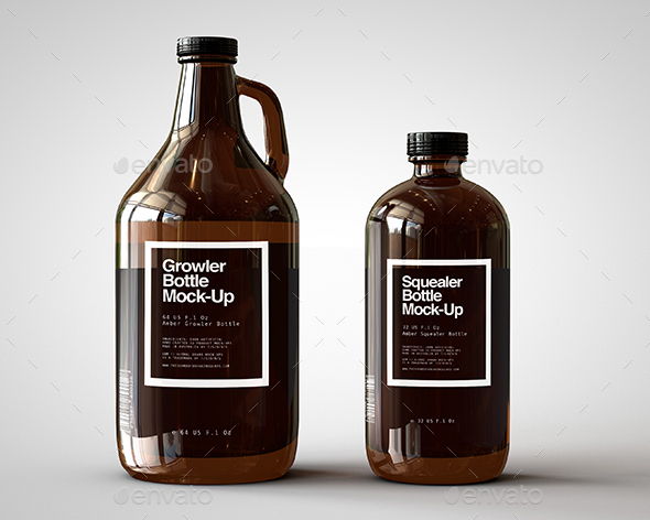 bottle mockups