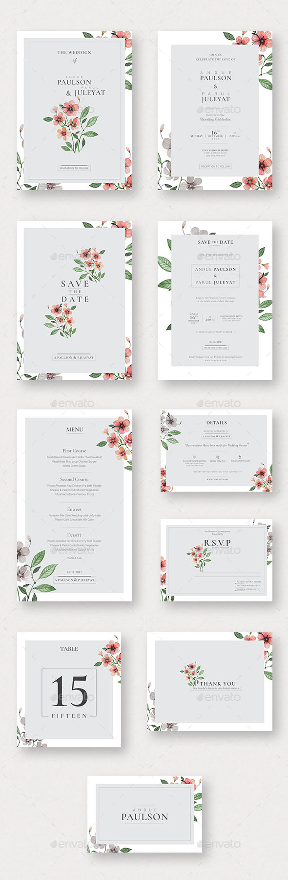 75 High Quality Wedding Invitation Card Designs 2020 Psd Indesign Vector